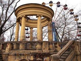 Осенние прогулки по Днепропетровску: Развалины, старинные дворики