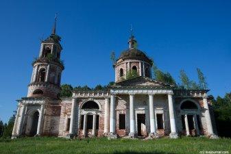 Заброшенные церкви Переславского района (Ярославская область