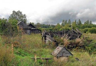 заброшенные деревни - Самое интересное в блогах
