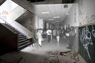 Заброшенные школы Детройта: тогда и сейчас - ЯПлакалъ